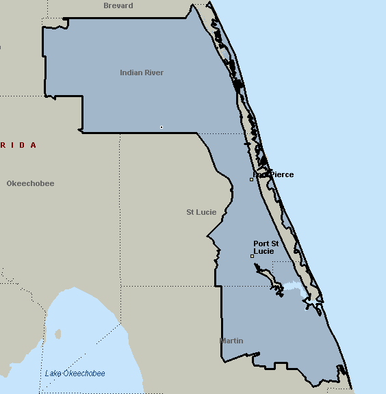 Port St Lucie Florida Map.Port St Lucie Florida Courier Delivery Service